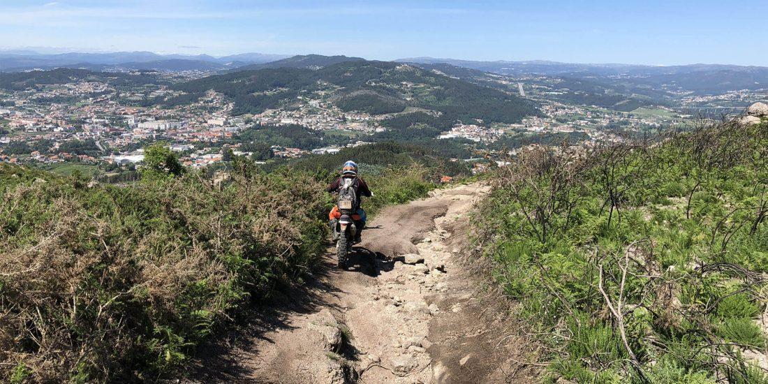 enduro rally raid motorreis portugal zuid